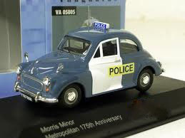Morris Minor Metropolitan Police 1948-1971 blau / weiss