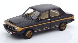 Renault 12 Alpine 1978 schwarz / gold met.