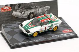 Lancia Stratos HF #1 Rallye Monte Carlo 1977 S. Munari / S. Maiga