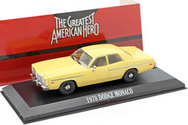 "Dodge Monaco 1976-1978 gelb ""TV-Serie The Greatest American Hero 1981-1983"""