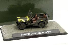 Jeep Willys MB Australia 1942 grün / gelb