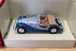 Morgan Plus 8 Roadster 1968-2004 dunkelblau met. / hellblau met. / beige