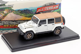 Jeep Wrangler Unlimited All Terrain 2018 weiss / beige / Decor