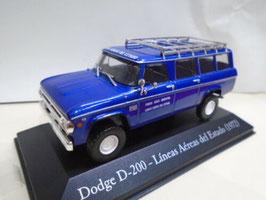 NEU: Dodge D-200 Lineas Aereas del Estado dunkelblau