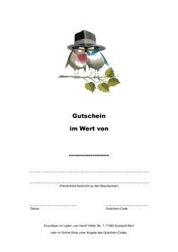 Gutschein - Hochzeit