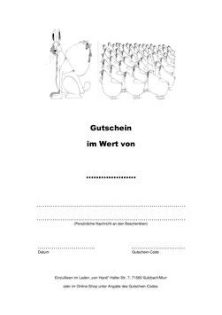 Gutschein - Ostern