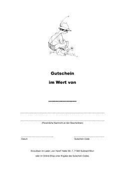 Gutschein - Neutral