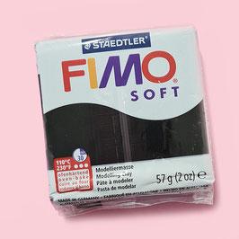 Fimo soft 57g (schwarz)