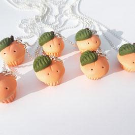 Pfirsich Cupcakes an der Kette