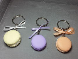 Schlüsselanhänger Macaron mit Schleife