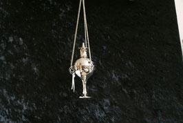 Wierookbrander hangend chroom