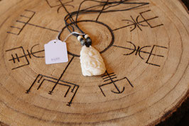 """Native American style necklace """"Wolf"""". B07"""