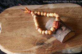 """Wikkelarmband """"Meditation bracelet"""". (LARGE) ARM20."""