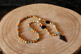 "Native American style necklace ""Arrowhead"". PSN003"