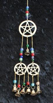 Meditatie belletjes met Pentagram mobile