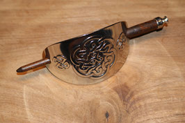 Haarpin Celtic knot and  Triscal.