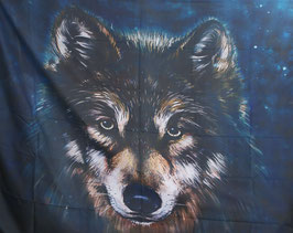 Wandkleed (tapestry) wolf.