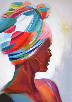 "Original Gemälde ""Kenia II"" 50 x 70 cm"