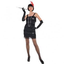 Kostüm Flashy Flapper 20er Style Größe M