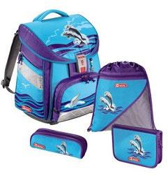 Step by Step Schulranzen Comfort Happy Dolphins