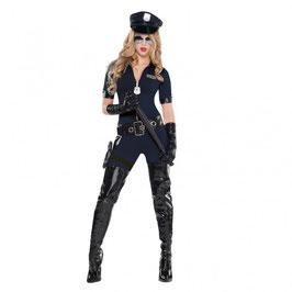 Stop Traffic Polizistin Kostüm Größe M