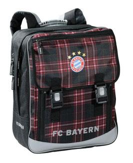 FC Bayern Schulrucksack Logo offizielles Produkt des FCB