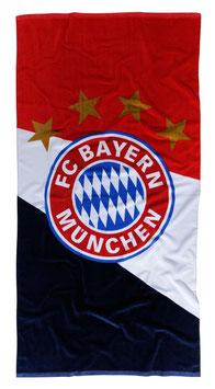 FC Bayern Strandtuch Emblem 17459