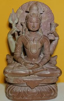 Shiva in tiefer Meditation