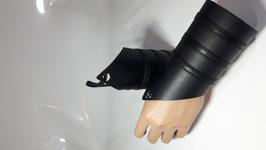 Leder Manschetten schwarz
