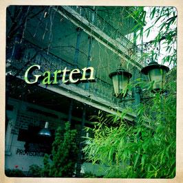 Schild Garten