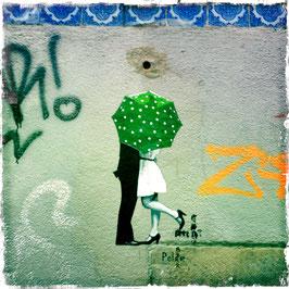 Graffiti Kuss, Lissabon
