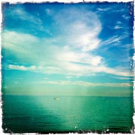 Himmel über Meer