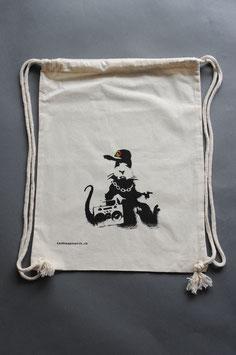 Banksy Gangsta Rat