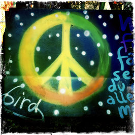 Graffiti Peacezeichen
