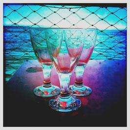 Gläser am See