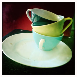 Kaffeetassen Stapel