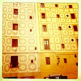 Hausfassade, Barcelona