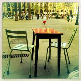 Bistrotisch, Barcelona