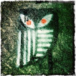 Graffiti Eule