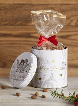 Merry Christmas Dose mit Original Nürnberger Elisen-Lebkuchen