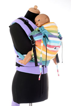 Huckepack Half Buckle Medium-Girasol Allegria light/flieder