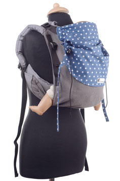 Huckepack Onbuhimo Medium-grey/blue stars