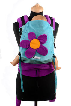 Huckepack Half Buckle Medium-Flower/Girasol Turmalin