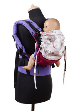 Huckepack Full Buckle Medium-Girasol Viola/animal farm