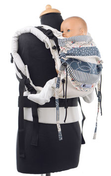 Huckepack Full Buckle Baby-nature maritime