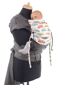 Huckepack Wrap Tai Baby-Oldtimer