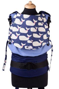 Huckepack Half Buckle Medium - Whales