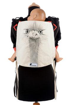 Huckepack Onbuhimo Toddler-Strauß (handgemaltes Unikat)