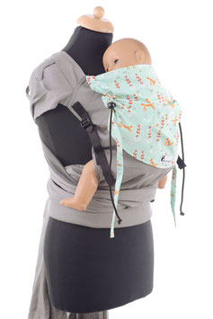 Huckepack Wrap Tai Toddler-Foxes