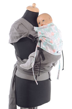 Huckepack Wrap Tai Medium- grey trees
